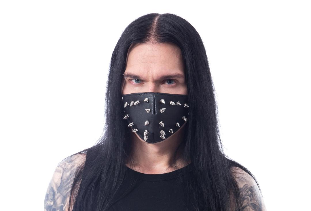 Poizen Industries | Astor Black Spike Face Mask