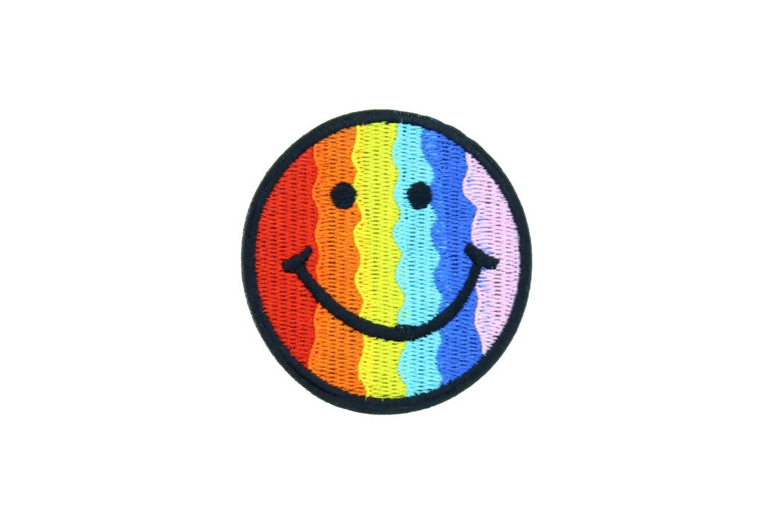 Void Clothing | Pride Rainbow Smiley Woven Patch