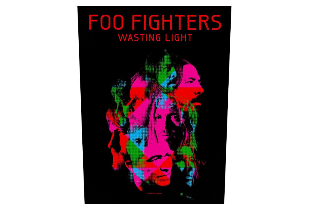 Official Band Merch | Foo Fighters - Wasting Light Printed Back Patch
