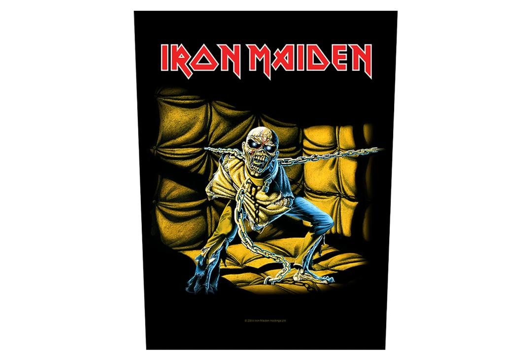 Official Band Merch | Iron Maiden - Piece Of Mind Printed Back Patch