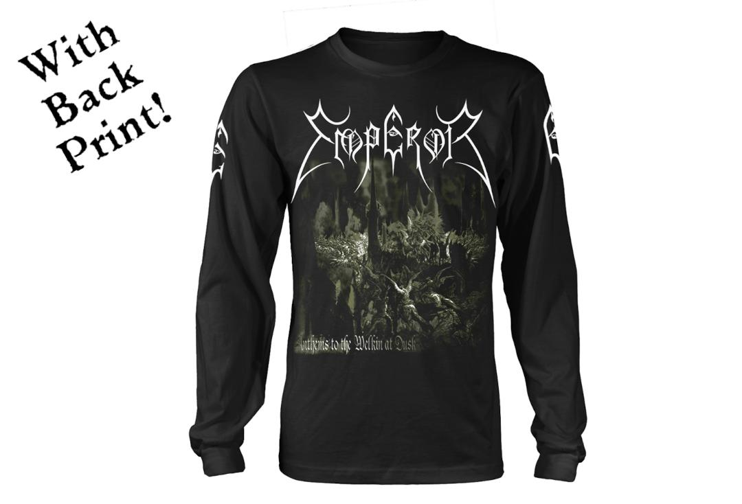 Official Band Merch | Emperor - Anthems 2014 Men's Official Long Sleeve T-Shirt - Front
