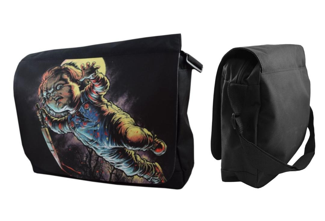 Darkside Clothing | Chucky Messenger Bag - Front & Side