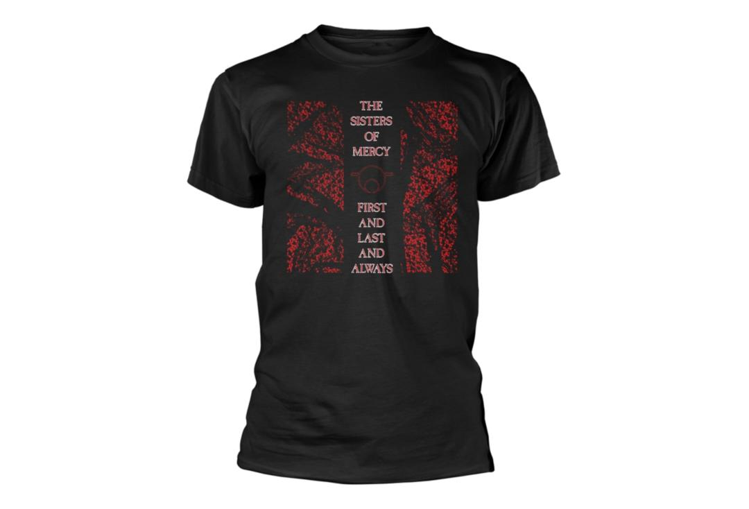 Official Band Merch | The Sisters Of Mercy - First And Last And Always Men's Short Sleeve T-Shirt