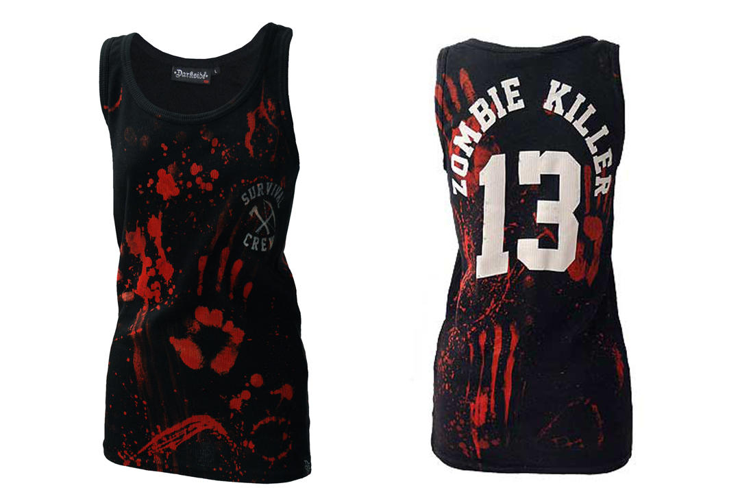 Darkside | Zombie Killer Black Unisex Beater Vest