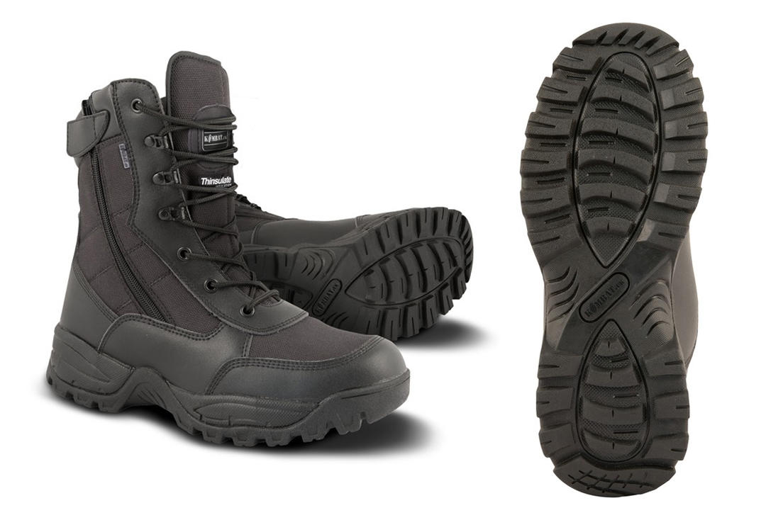 Kombat | Special Ops Recon Boot - 1/2 Leather