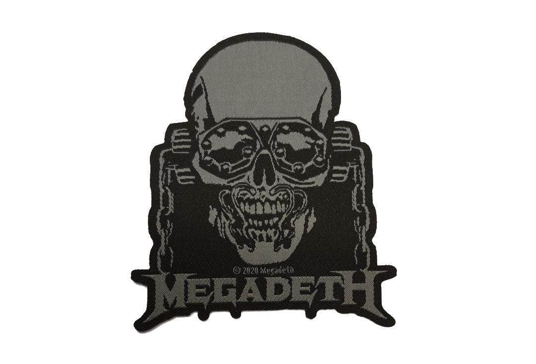 Official Band Merch | Megadeth - Vic Rattlehead Cut Out Woven Patch