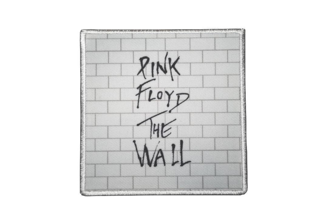 Official Band Merch | Pink Floyd - The Wall Album Cover Woven Patch