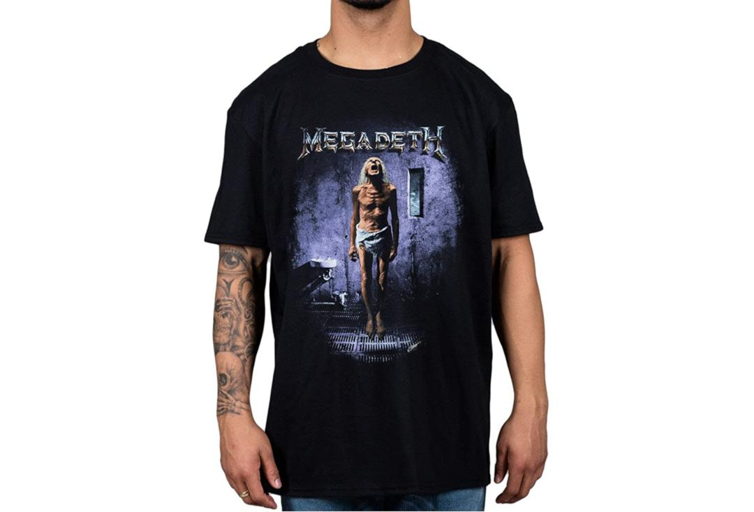 Official Band Merch | Megadeth - Countdown To Extinction Official Men's Short Sleeve T-Shirt