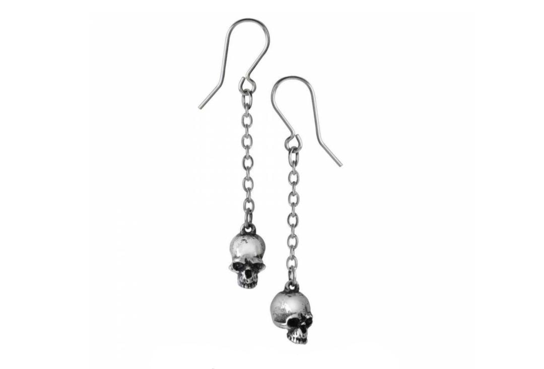 Alchemy Gothic | Deadskull Earrings - Main