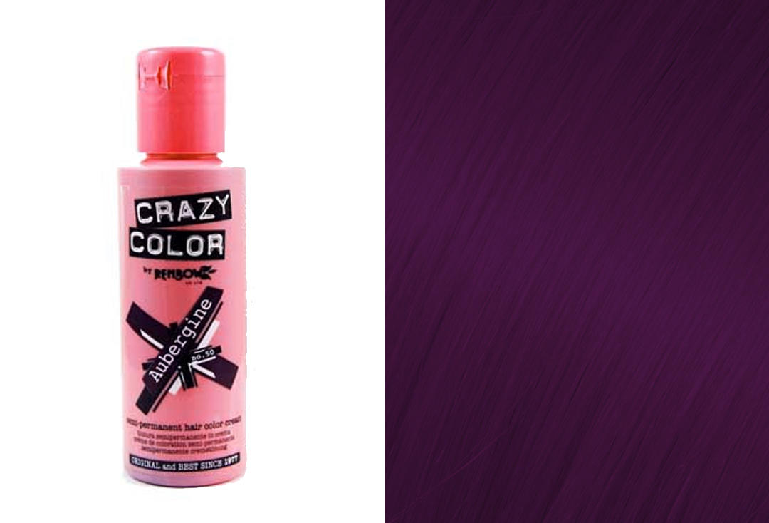 Renbow | Crazy Color Semi-Permanent Hair Colour (050 Aubergine)