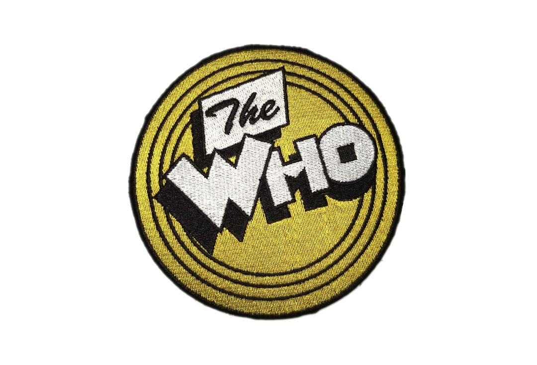 Official Band Merch | The Who - Yellow Circle Woven Patch