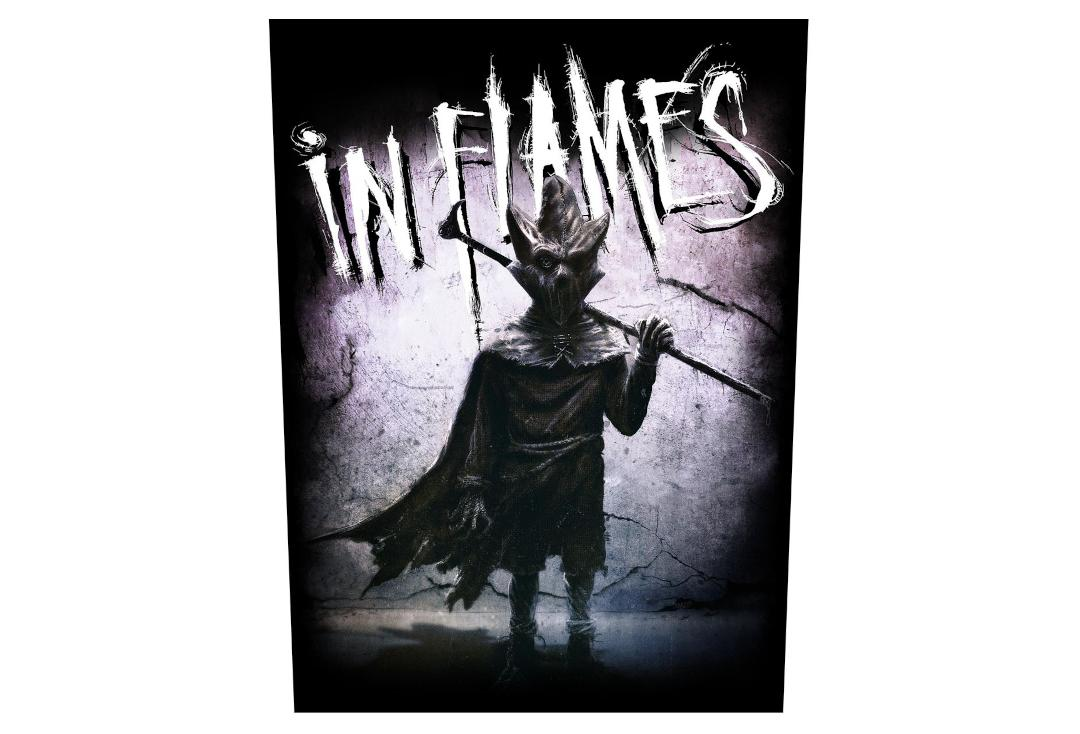 Official Band Merch | In Flames - The Mask Printed Back Patch