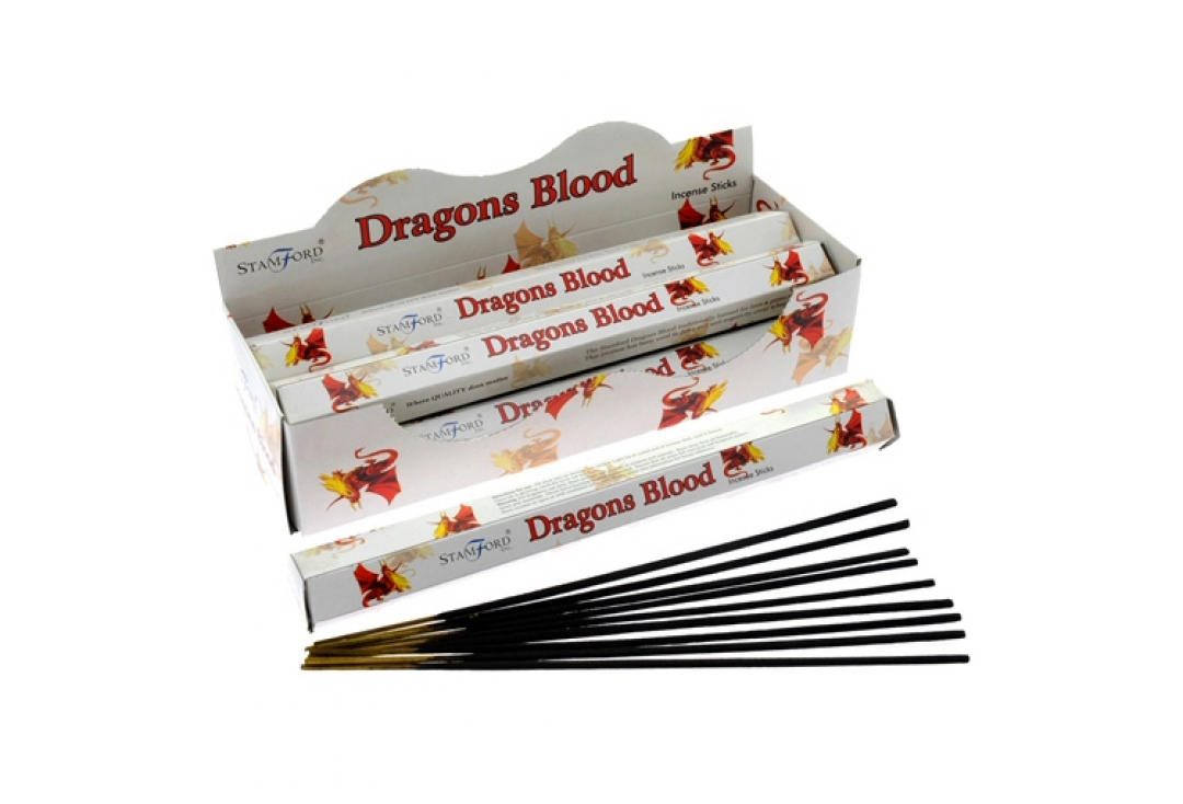 Stamford | Mythical White Hex Stamford Incense - Dragons Blood