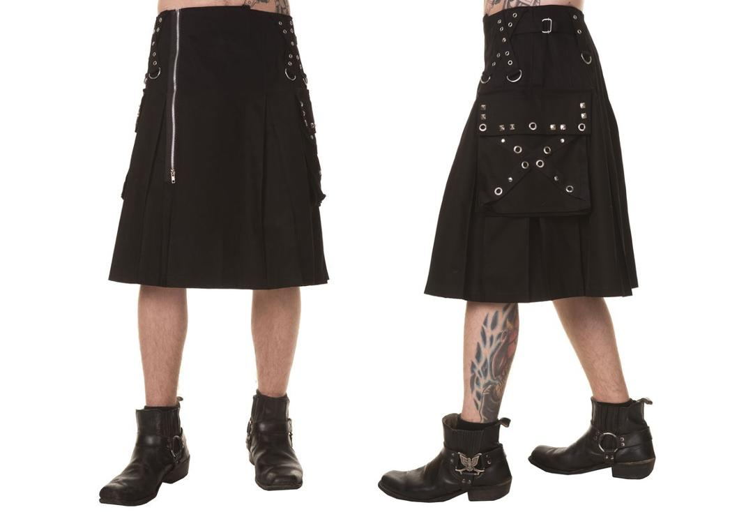 Dead Threads | Pocket Detail 8956 Kilt - Front & Side