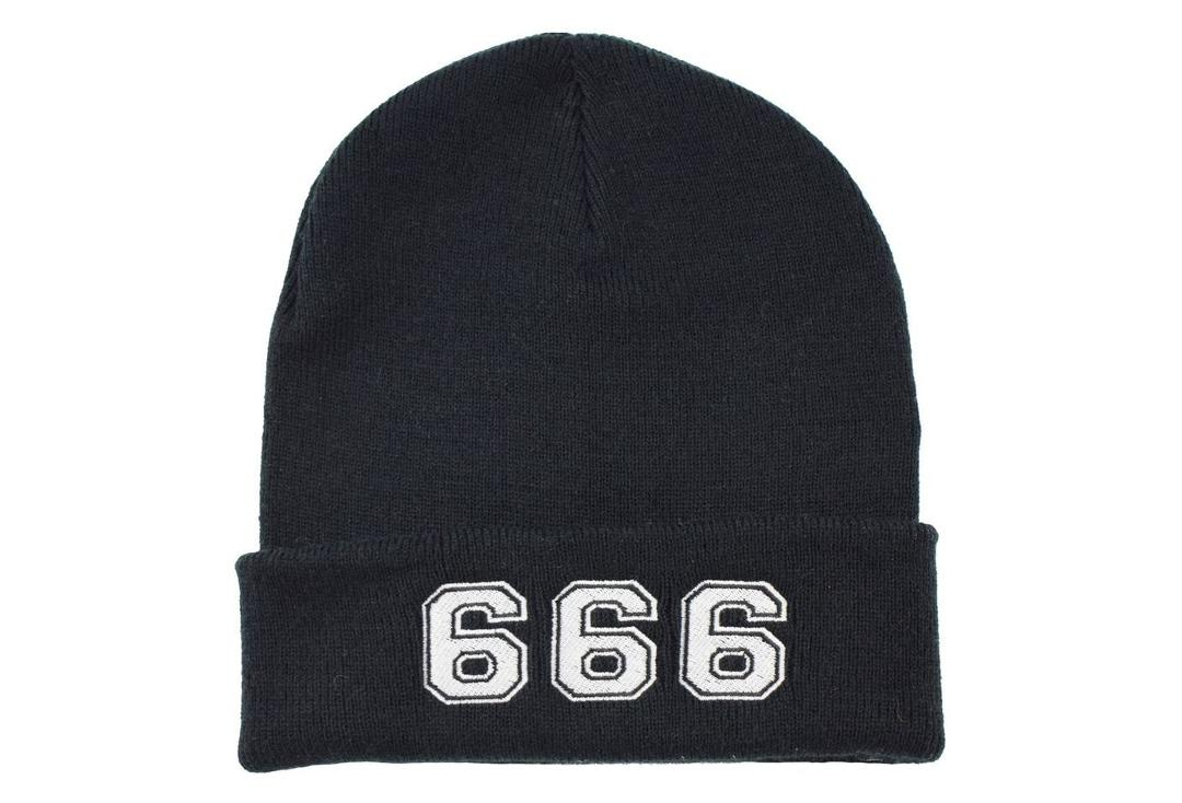 Darkside | 666 Beanie Hat - Front