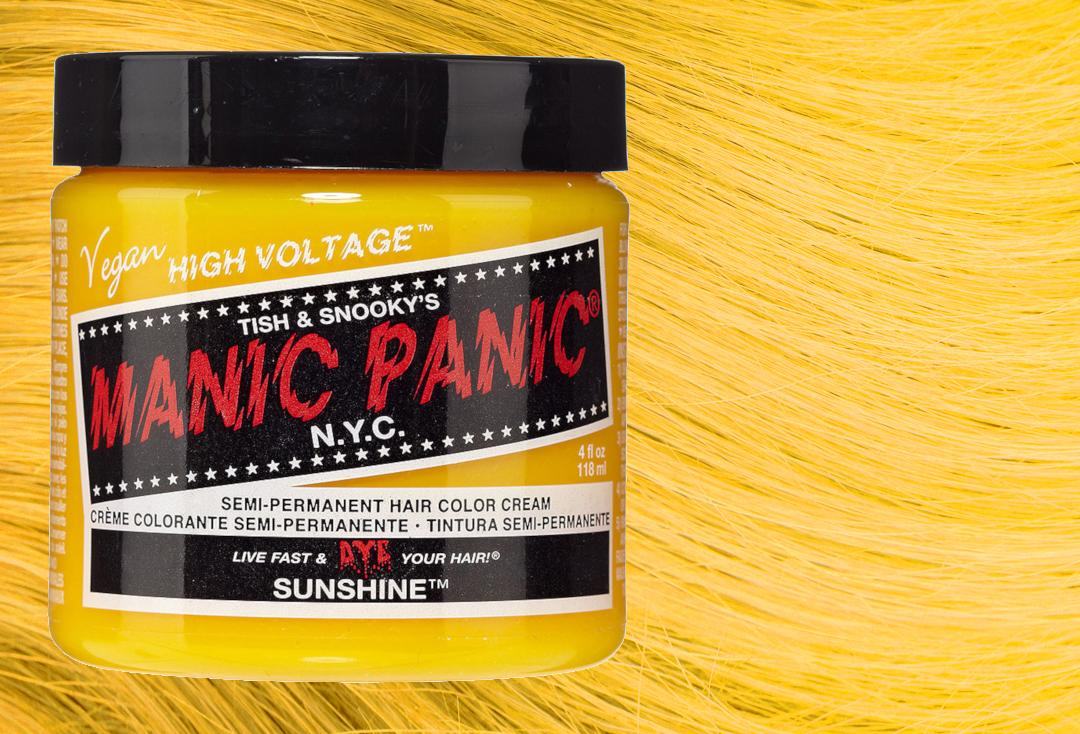 Manic Panic | Sunshine High Voltage Classic Cream Hair Colour