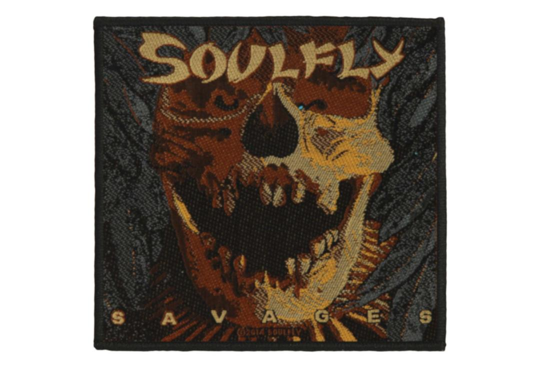 Official Band Merch | Soulfly - Savages Woven Patch
