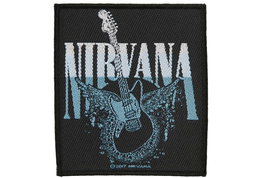 Official Band Merch | Nirvana - Guitar Woven Patch