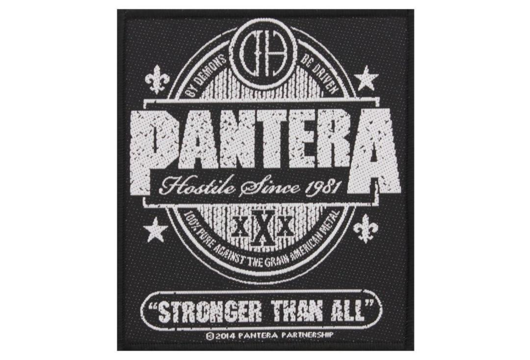 Official Band Merch | Pantera - Stronger Than All Woven Patch