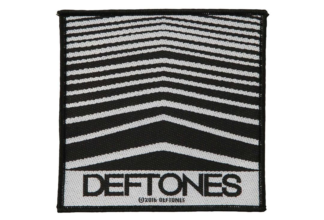 Official Band Merch | Deftones - Abstract Lines Woven Patch