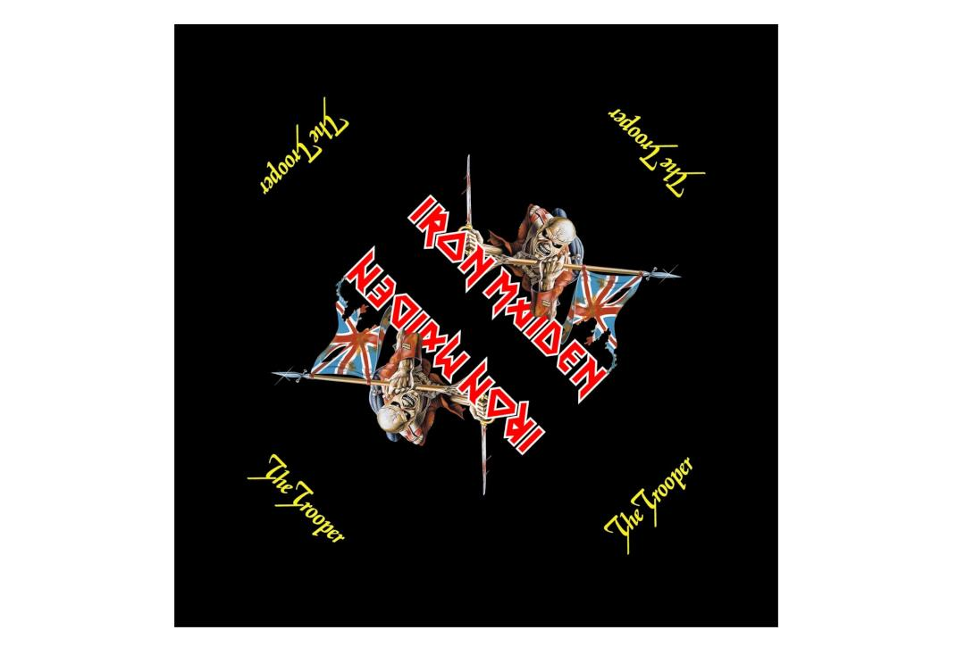Official Band Merch | Iron Maiden - The Trooper Bandana