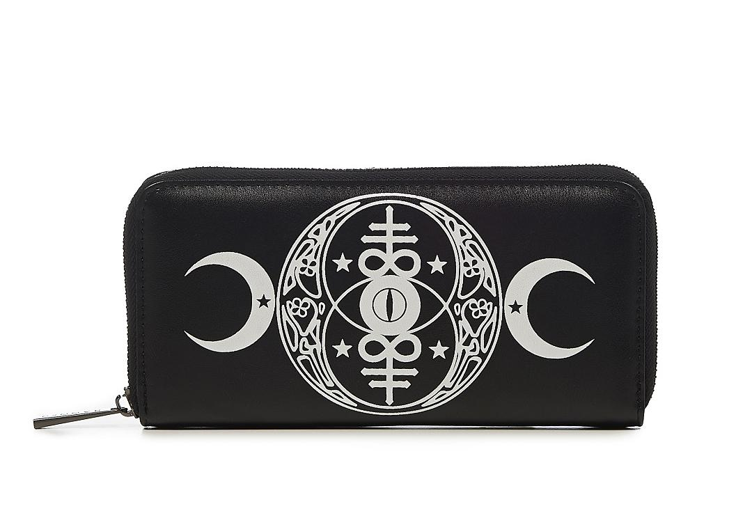 Banned | Moon Phase Purse - Front View