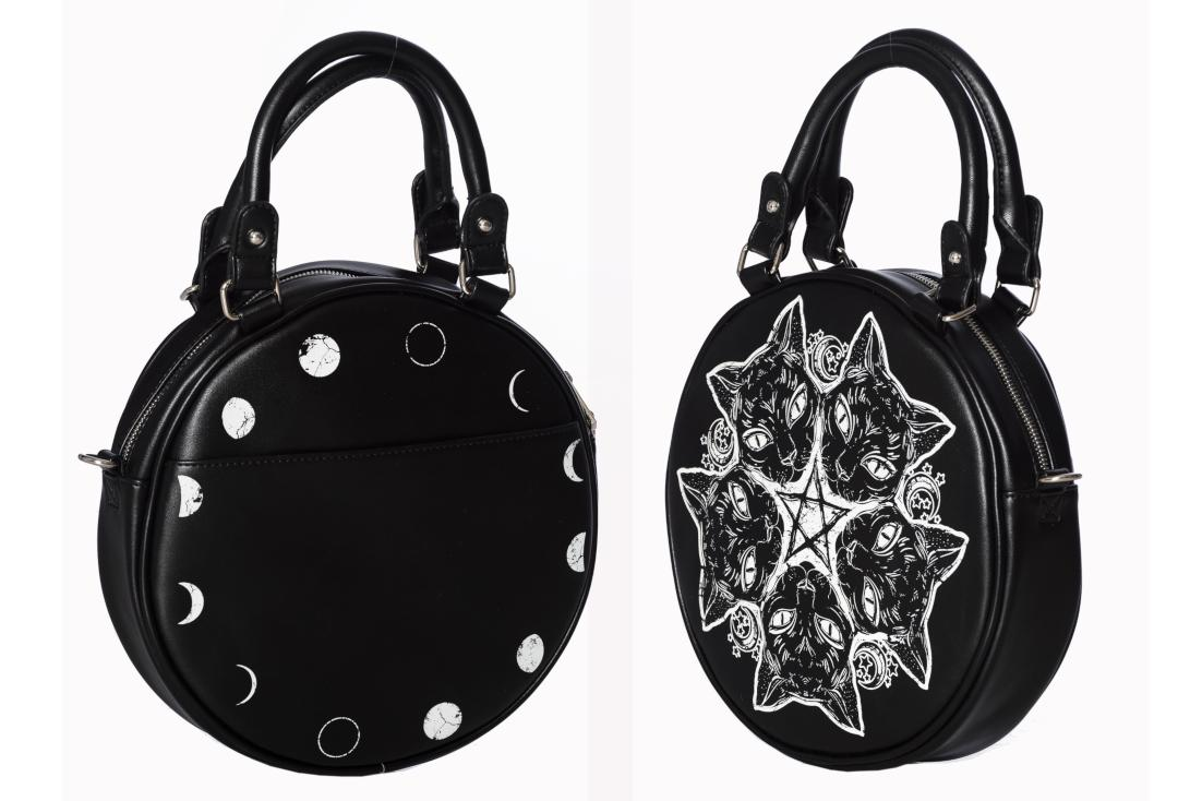Banned | Esotericat Round Bag - Back & Side View
