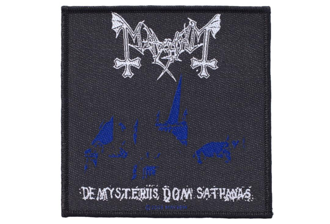 Official Band Merch | Mayhem - De Mysteriis Dom Sathanas Woven Patch