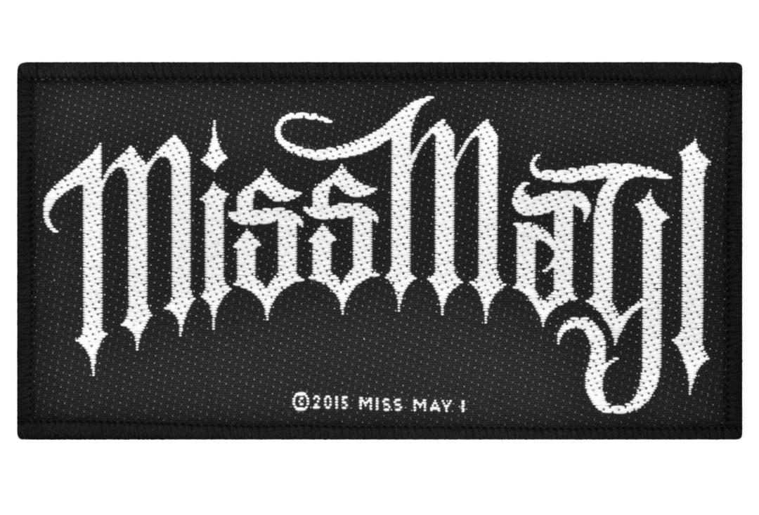 Official Band Merch | Miss May I - Logo Woven Patch