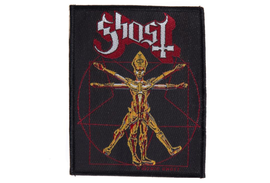 Official Band Merch | Ghost - The Vetruvian Ghost Woven Patch