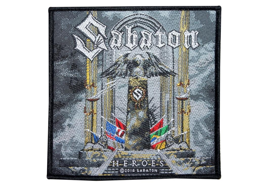 Official Band Merch | Sabaton - Heroes Woven Patch