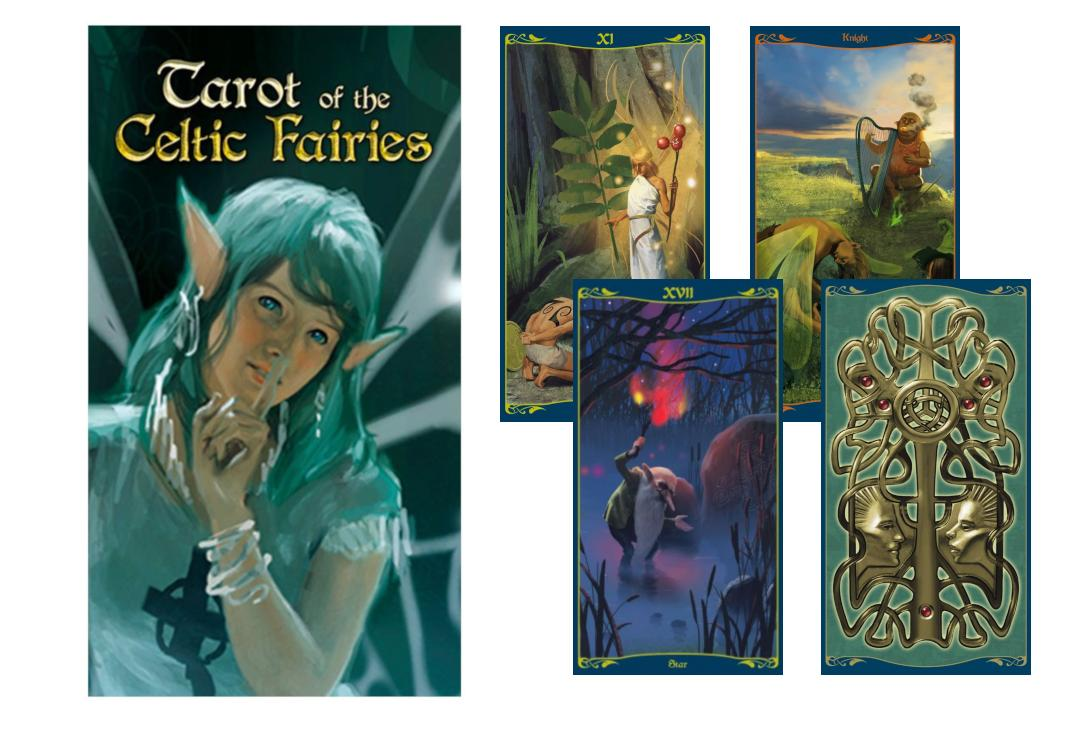 Lo Scarabeo | Tarot Of The Celtic Fairies
