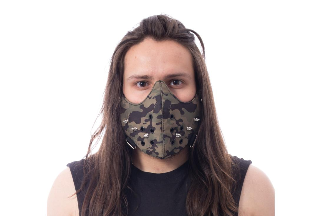 Poizen Industries | Otto Camo Studded Face Mask