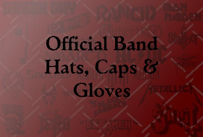 Official Beanies, Caps & Gloves