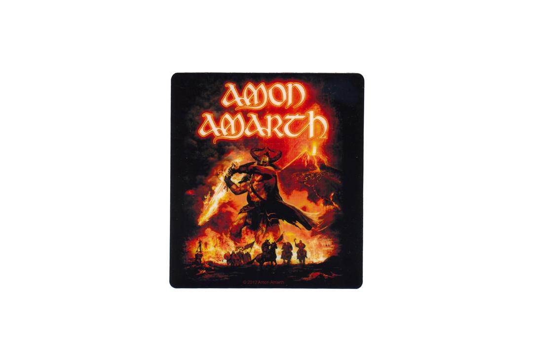 Official Band Merch | Amon Amarth - Surtur Rising Vinyl Sticker