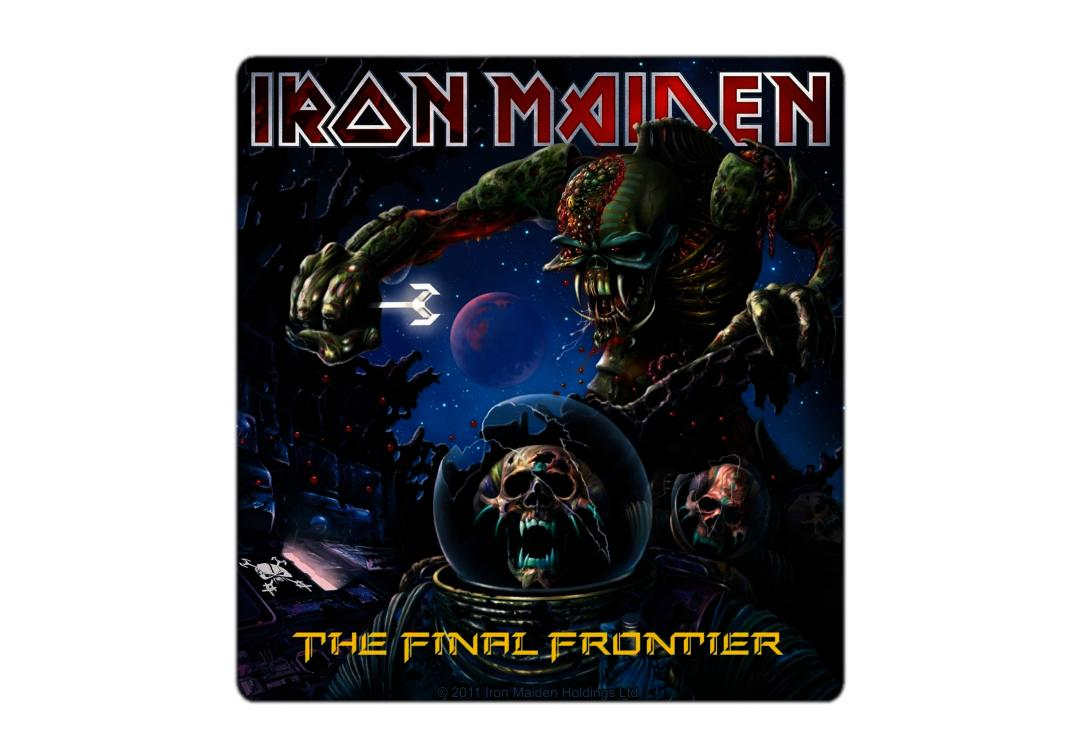 Official Band Merch | Iron Maiden - The Final Frontier Vinyl Sticker
