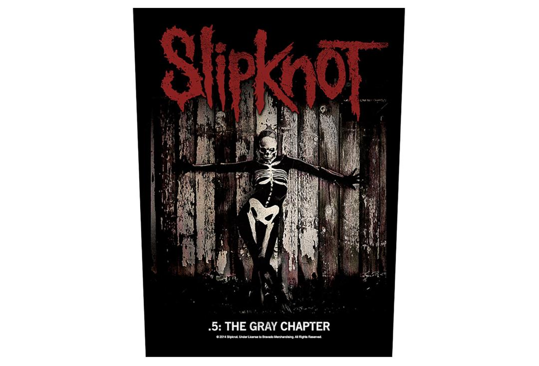 Official Band Merch | Slipknot - The Gray Chapter Printed Back Patch