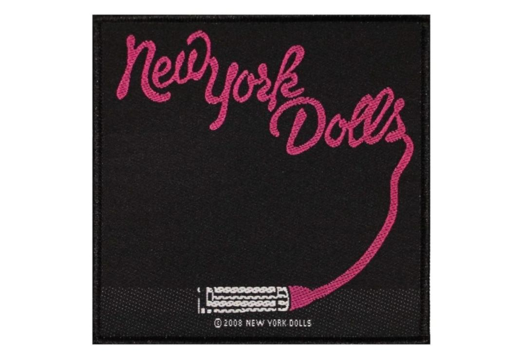 Official Band Merch | New York Dolls - Lipstick Woven Patch