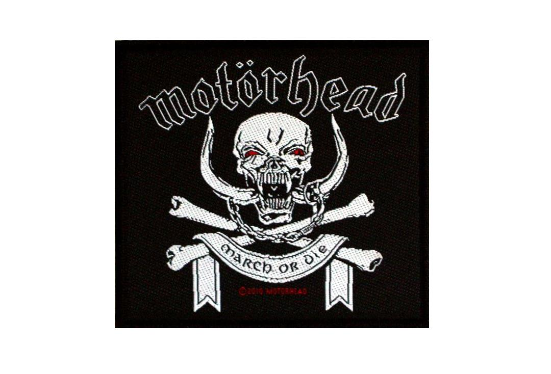 Official Band Merch | Motorhead - March Or Die Woven Patch