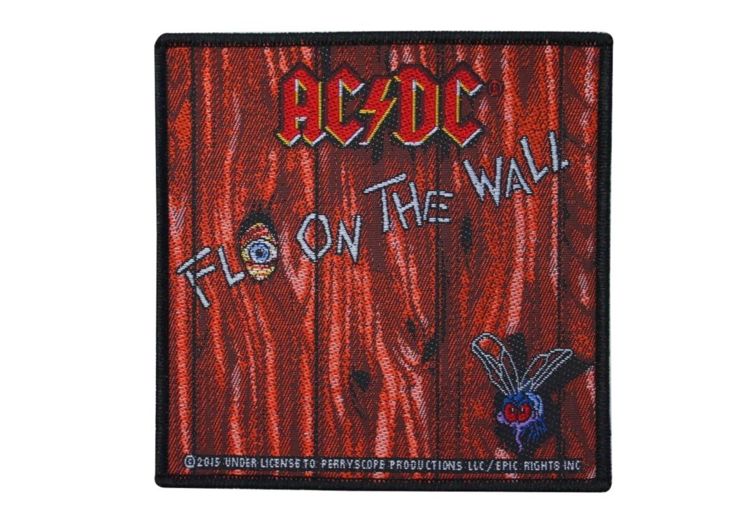 Official Band Merch | AC/DC - Fly On The Wall Woven Patch