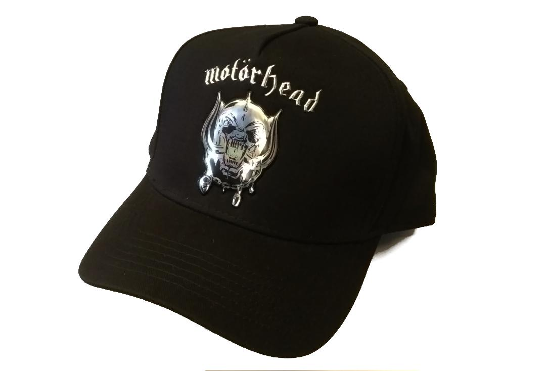 Official Band Merch | Motorhead - Warpig Sonic Silver Baseball Cap