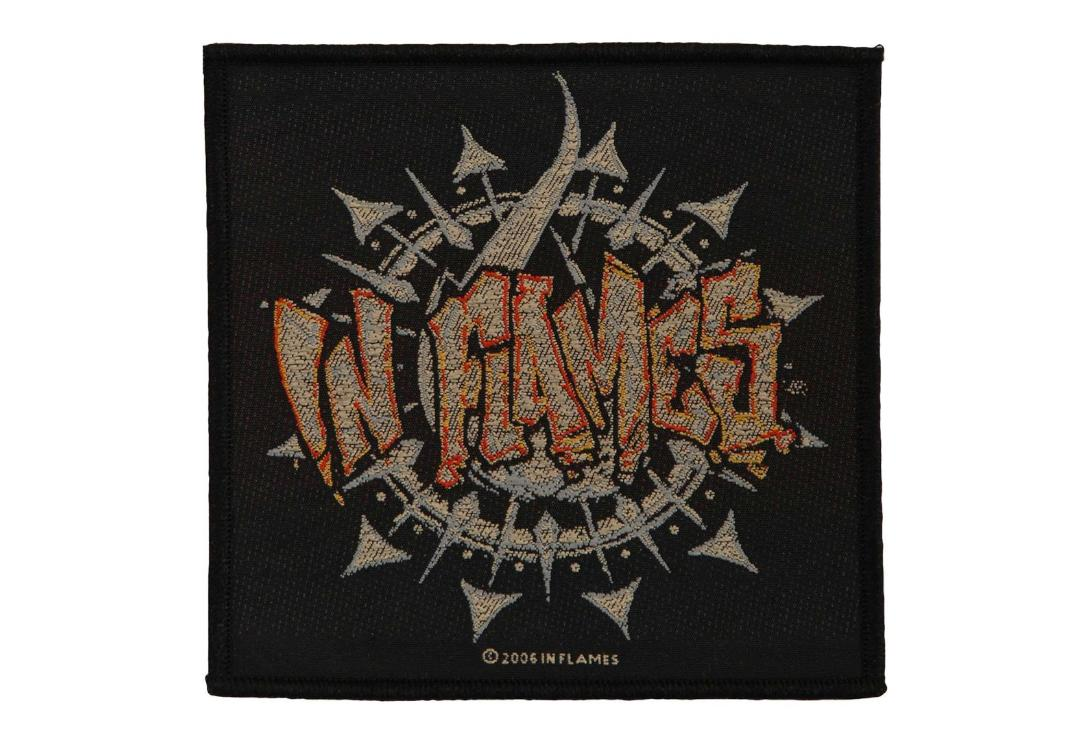 Official Band Merch | In Flames - Graffiti Logo Woven Patch