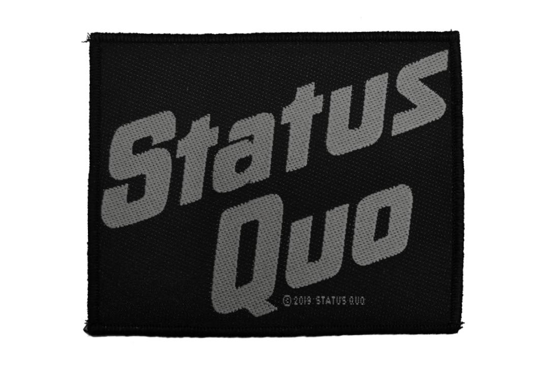 Official Band Merch | Status Quo - Logo Woven Patch