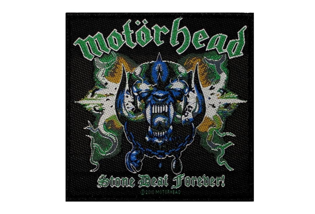 Official Band Merch | Motorhead - Stone Deaf Forever Woven Patch