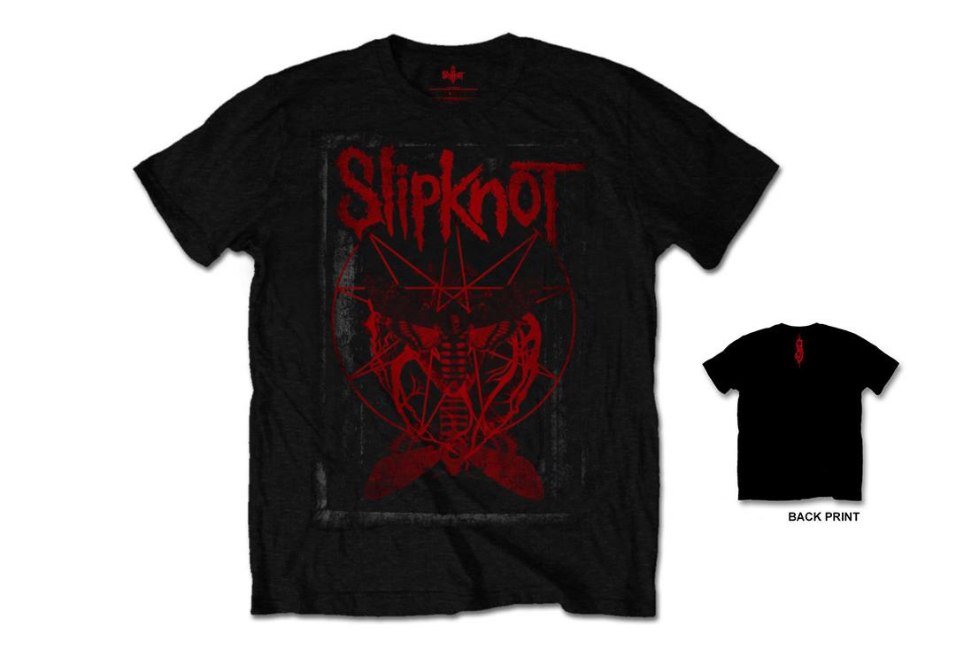 Official Band Merch | Slipknot - Dead Effect Men's Short Sleeve T-Shirt