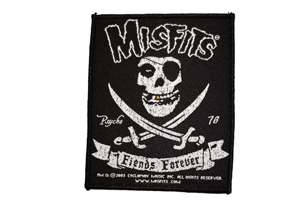 Official Band Merch | Misfits - Fiends Forever Woven Patch