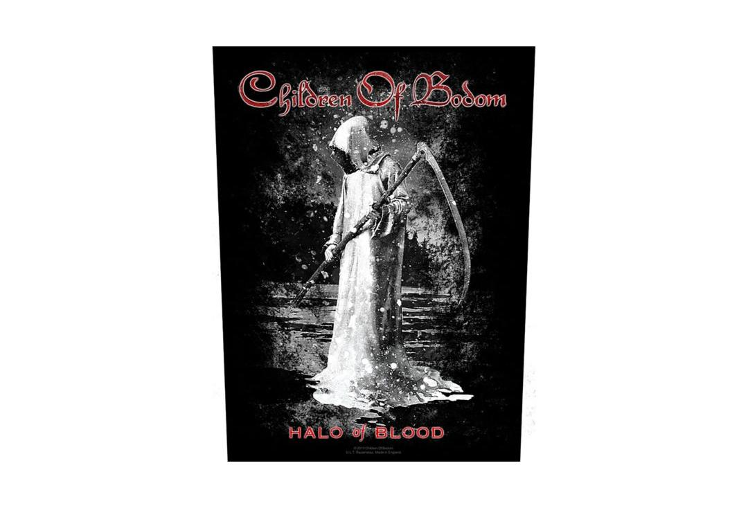Official Band Merch | Children Of Bodom - Halo Of Blood Printed Back Patch
