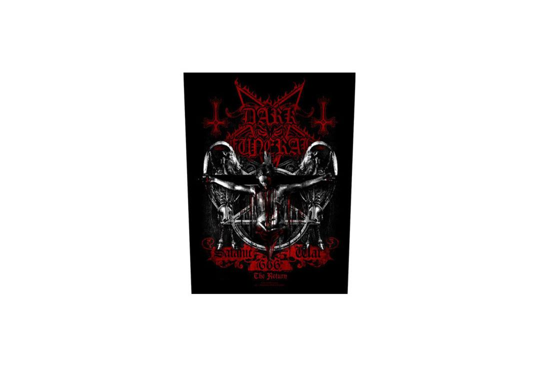 Official Band Merch | Dark Funeral - Satanic War The Return Printed Back Patch