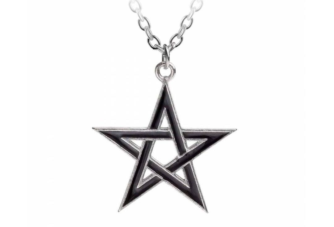 Alchemy Gothic | Black Star Pendant - Main