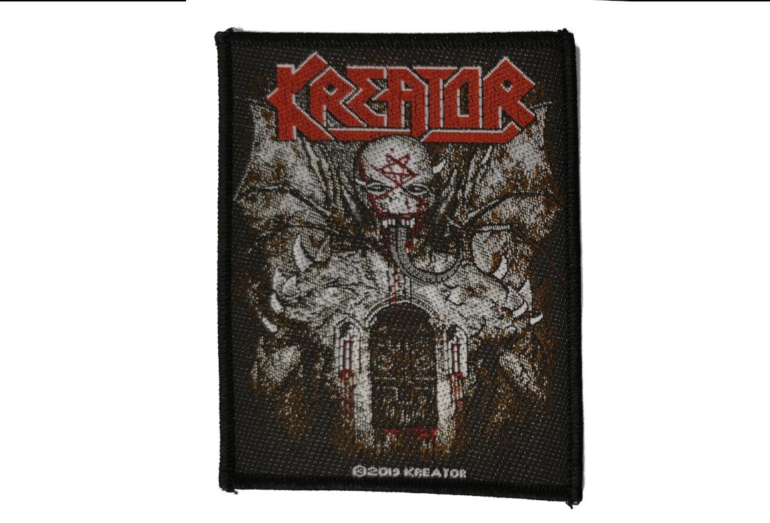 Official Band Merch | Kreator - Gods Of Violence EU Woven Patch